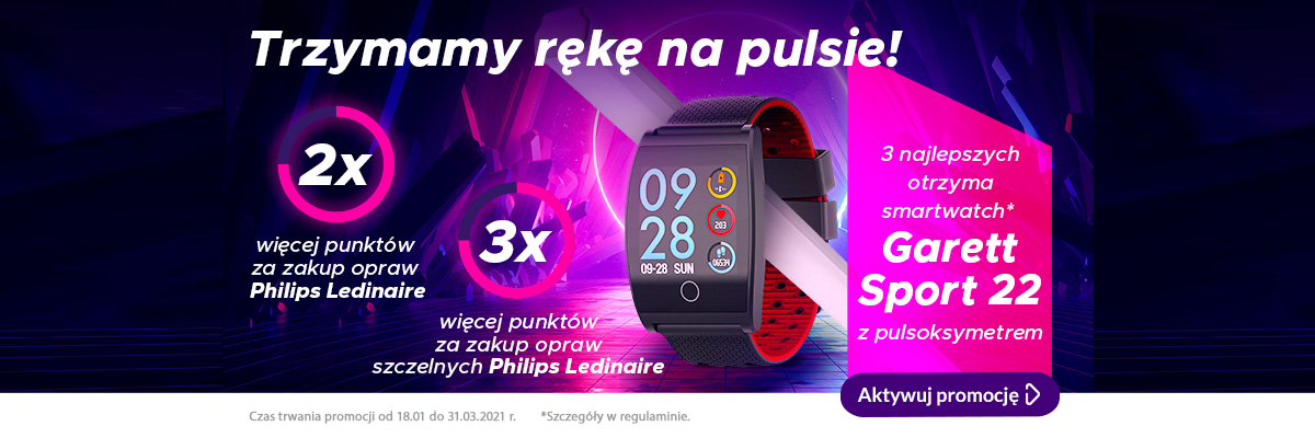 Trzymaj rękę napulsie - Promocja Philips