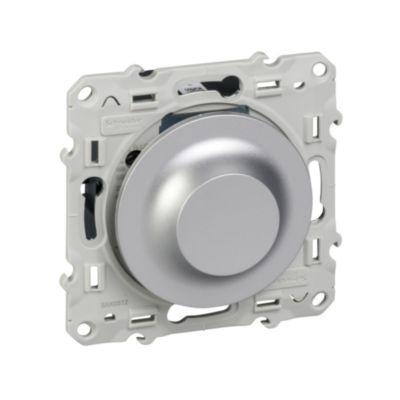 Uniwersalny ściemniacz LED 400VA, alumin