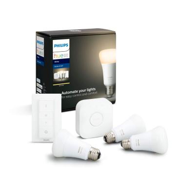 PHILIPS HUE - Zestaw startowy 3x LED BLUETOOTH WHITE 9W E27