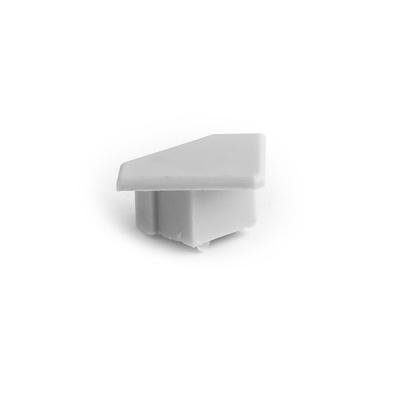 Zaślepka 45-ALU szara - do profili LED