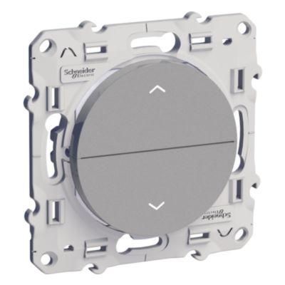 Przycisk żaluzjowy 2 przyciski,aluminium
