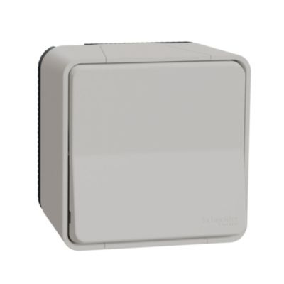 Mureva, przycisk, biały