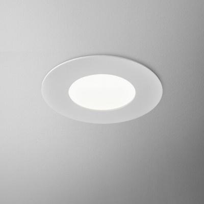 AQUATIC round LED 230V hermetic wpuszczany Alu