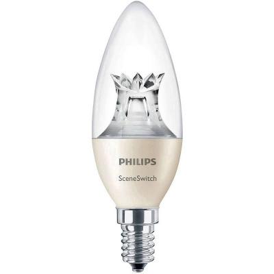 PHILIPS LED SSW 5.5-40W B38 E14 WW CL ND RF 1BC/6
