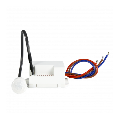Czujnik ruchu PIR 120/360 stopni miniaturowy zsondą naprzewodzie - MCR-08