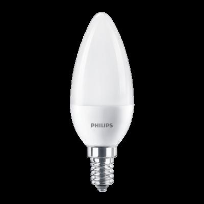 PHILIPS COREPRO CANLDE LED 60W B38 E14 WW FR ND 1PF/12