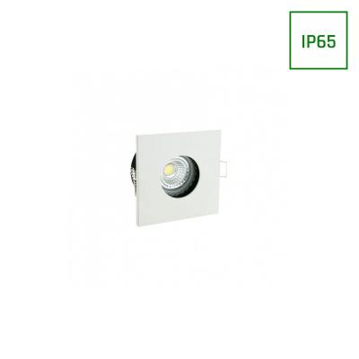 OPRAWA FIALE IV GU10 SQUARE WHITE IP65