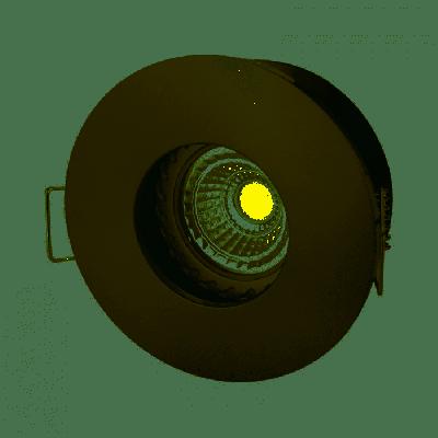 FIALE IV GU10 ROUND SILVER IP65