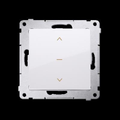 Simon 54 łącznik żaluzjowy pojedynczy trójpozycyjny (1-0-2) biały