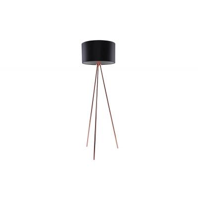 Lampa podłogowa Finn Black Copper