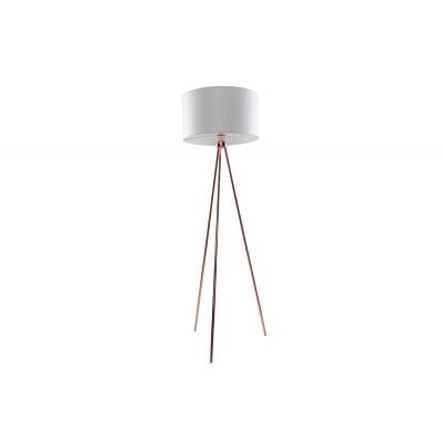 Lampa podłogowa Finn White Copper
