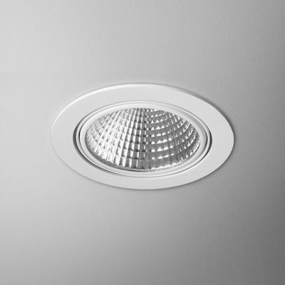LED EYE hermetic L930 36° wpuszczany biały mat