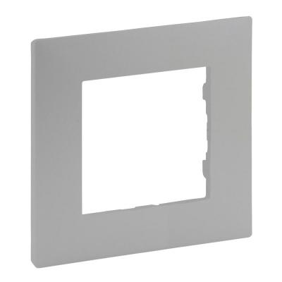Niloe Step - ramka pojedyncza 1x- kolor aluminium