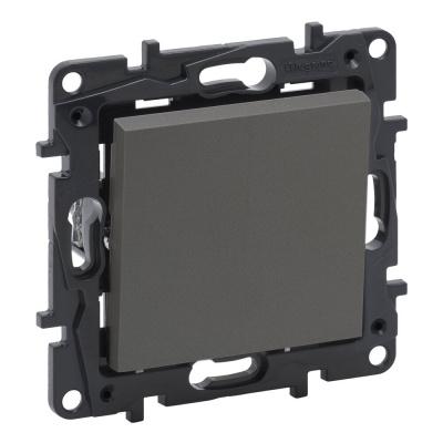 Niloe Step - łącznik jednobiegunowy 10 AX- kolor stalowy
