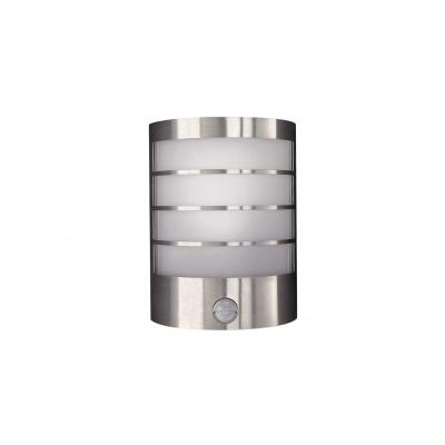 CALGARY WALL LANTERN INOX 1X12W 230V 17174/47/10