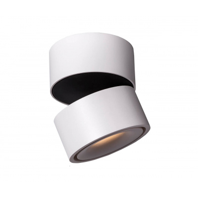 MISTIC LIGHTING PLAFON LED BROKEN 9W BIAŁY MAT/CZARNY MSTC-05411010