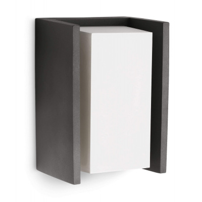 Bridge wall lantern anthracite 1x15W 230