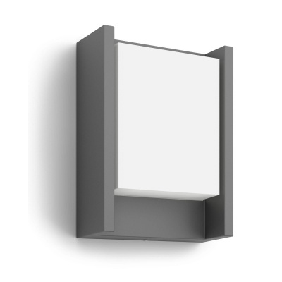 Arbour wall lantern anthracite 1x6W 230V 164609316