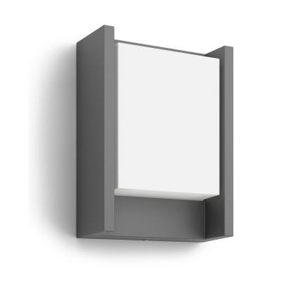 Arbour wall lantern 4000K anthracite 1x6W