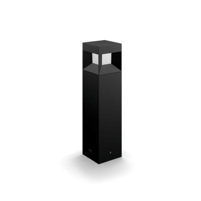 Parterre pedestal black 1x8W 230V