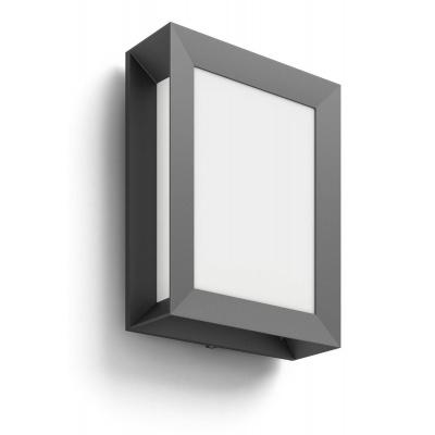 Karp 4000K wall lantern anthracite 1x6W 230V