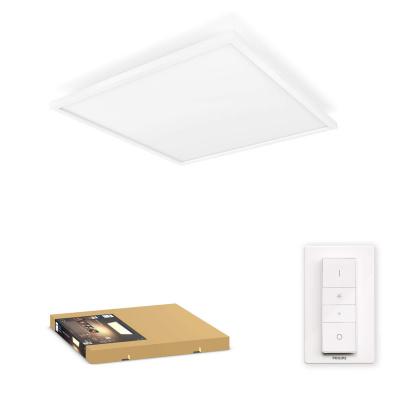 PHILIPS HUE Kwadratowa Oprawa Aurelle biała White ambiance 46,5W + regulator przyciemniania
