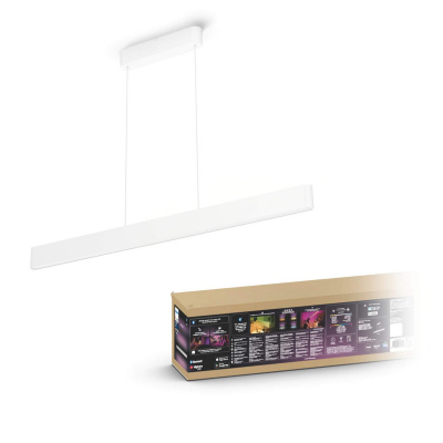 PHILIPS HUE Oprawa Ensis Biała COLOR AND WHITE AMBIANCE