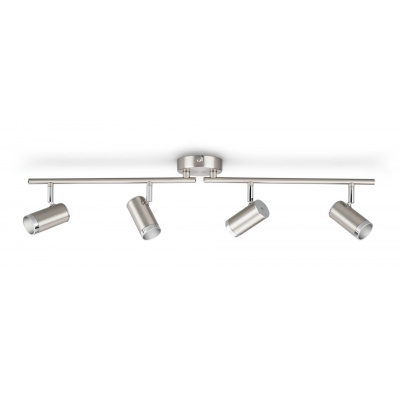 ESPIMAS bar/tube Chrome 4x4.3W 230V