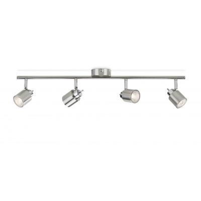 meranti bar/tube nickel and brass plated 4X35W 230V