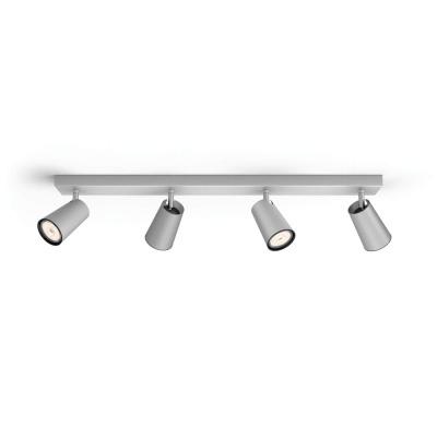 PAISLEY bar/tube Aluminium 4xNW 230V