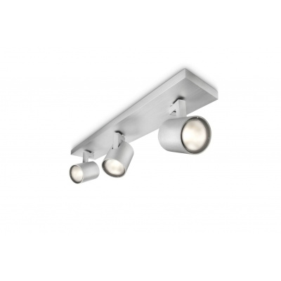 Runner bar/tube aluminium 3x50W 230V, bez źródła światła