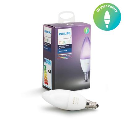 PHILIPS HUE- Żarówka świecowa LED BLUETOOTH WHITE AND COLOR AMBIANCE 6.5W E14