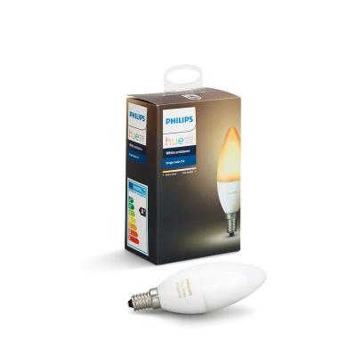 PHILIPS HUE- Żarówka świecowa LED BLUETOOTH WHITE AMBIANCE 6W E14