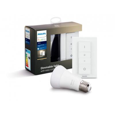 Philips HUE- Żarówka LED BLUETOOTH WHITE 9W E27 + Regulator przyciemniania