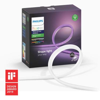 PHILIPS HUE- Zewnetrzna taśma LED RGBW BLUETOOTH IP67 2m + Zasilacz EU