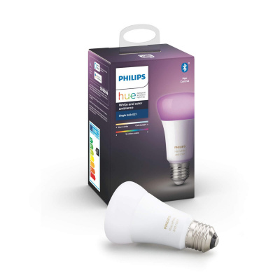 PHILIPS HUE- Żarówka LED BLUETOOTH WHITE AND COLOR AMBIANCE 9W E27
