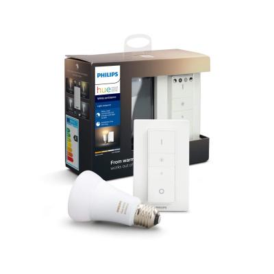 PHILIPS HUE- Żarówka LED BLUETOOTH WHITE AMBIANCE 9W E27 + Regulator przyciemniania