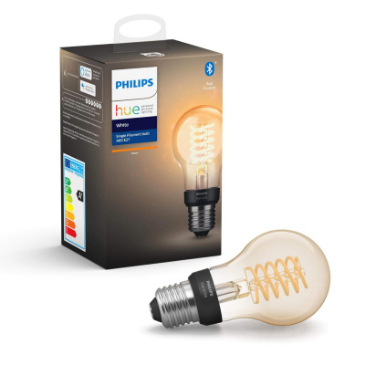 Philips HUE- Żarówka filamentowa A60 RETRO LED BLUETOOTH 2100K 7W E27