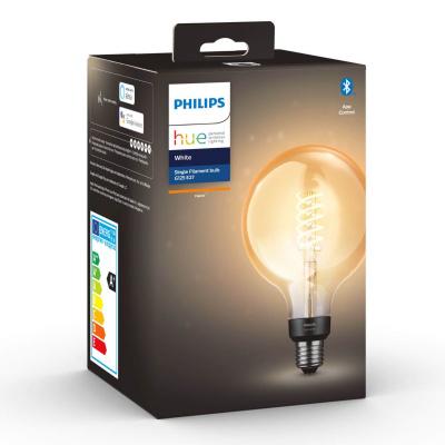 Philips HUE- Żarówka filamentowa G125 Retro LED BLUETHOOTH 2100K 7W E27