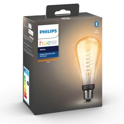 Philips HUE- Żarówka filamentowa ST72 Retro LED BLUETHOOTH 2100K 7W E27
