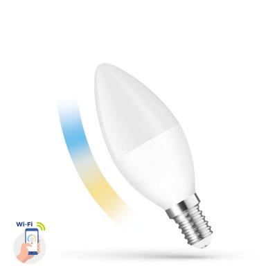 SPECTRUM ŚWIECZKA LED 5W E-14 CCT SMART
